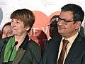 Françoise David et Andrés Fontecilla 2014-03-09.jpg