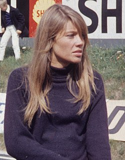 Françoise Hardy French recording artist, singer and actress