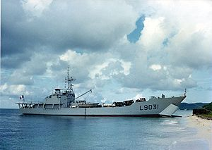French ship Francis Garnier (L9031) - Image: Francis Garnier