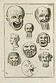 Francisci Ficoronii Reg. Lond. Acad. socii dissertatio de larvis scenicis et figuris comicis antiquorum Romanorum, et ex Italica in Latinam linguam versa (1754) (14595718477).jpg