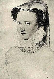 Françoise Babou de La Bourdaisière mistress to Henry III of France
