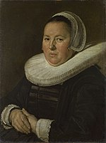 Frans Hals - portrait of a woman with folded hands c.1640.jpg