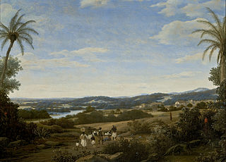Landscape with an Ant Bear