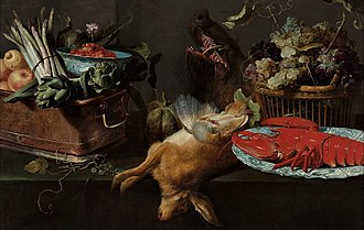 Frans Snyders - Kitchen still life