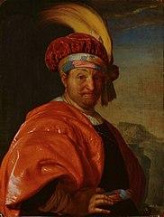 A Man in Oriental Costume