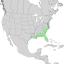 Fraxinus caroliniana range map 1.png