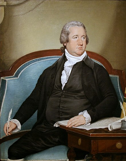 Frederick Muhlenberg, first Speaker of the House and son of German immigrants, studied theology in Saxony-Anhalt. Frederick Muhlenberg.jpg