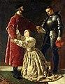 Frederick Richard Pickersgill - Duke Frederick Banishing Rosalind from his Court.jpg