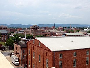 Downtown Frederick in June 2014
