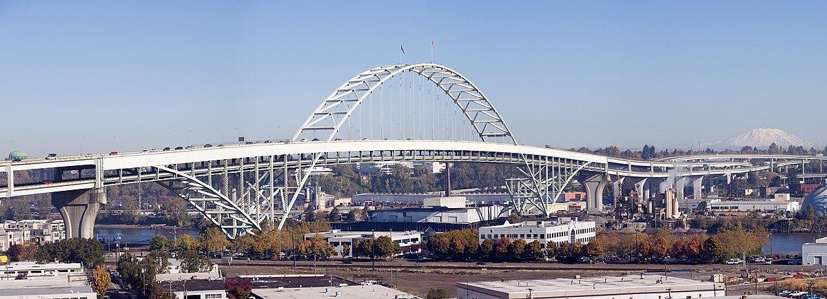 Fremont Bridge (Portland, Oregon) - Wikipedia