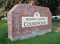 Fremont County Courthouse Sign.JPG