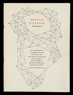 French Painting Today, cover of exhibition catalogue, 1953.jpg