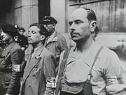 French resistance during Paris Uprising 1944
