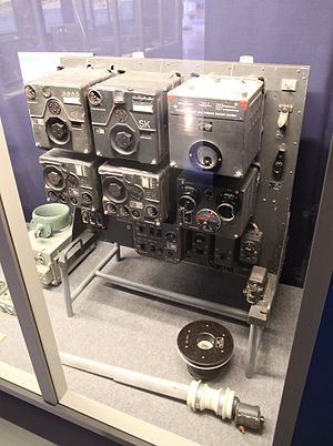 Dornier Do 17 - FuG 10 radio set used in the Do 17Z.