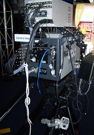 Ultra-high-definition television - Prototype camera head (2006)