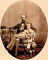 Görgei Artúr a fiával, Kornéllal 1859-1860 táján Klagenfurtban.jpg