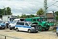 G-20 - Polizeifahrzeuge Hamburg Sternschanze 01.jpg