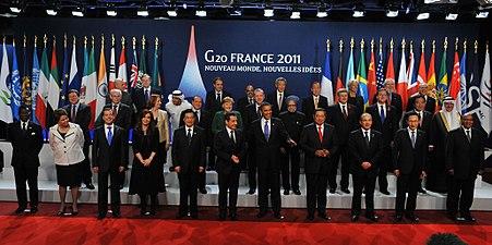 G20 - Cumbre de Cannes - 20111103