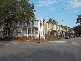 Savannah Victorian Historic District - Street view