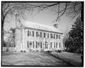 GENERAL VIEW OF FRONT, WINTER - Bishop John Early House, Lynchburg, Lynchburg, VA HABS VA,16-LYNBU,82-3.tif