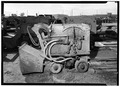 GENERAL VIEW OF LOADER FROM SIDE - Eico Overhead Loader, Salt Lake City, Salt Lake County, UT HAER UTAH,18-SALCI,20-2.tif