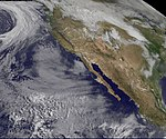 GOES-11 Sees Approaching Rainmaker to Add to Snowmelt on Columbia River (5754836133).jpg