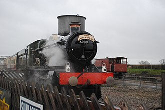 GWR 6959 Class - Image: GWR 6959 Class 6989 Wightwick Hall