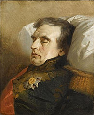Le maréchal Molitor sur son lit de mort