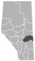 Galahad, Alberta Location.png
