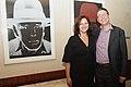 Galeristin Anna Jill Lüpertz mit Galerist Aurel Scheibler (39126579380).jpg