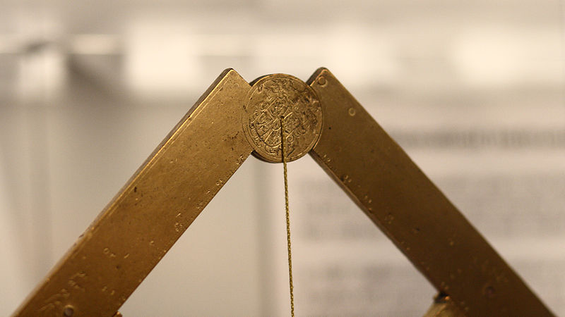 File:Galileo's geometrical and military compass in Putnam Gallery, detail 2, 2009-11-24.jpg
