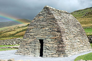 History of Ireland (400–800) - Gallarus Oratory, one of the earliest churches built in Ireland