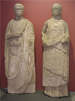 Gallo-Roman culture - Gallo-Roman figures found in Ingelheim am Rhein