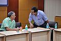 Ganga Singh Rautela and Subhabrata Chaudhuri - NCSM - Kolkata 2015-09-08 3289.JPG