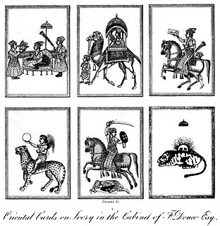 Face card playing card depicting a person; e.g. the king, queen, and jack in the 52-card French deck; knave, knight, queen, and king in the tarot deck