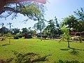 Gardens on the park of Bacalar. - panoramio.jpg
