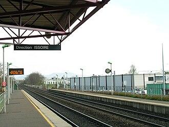 Aubière - Gare La Pardieu in Clermont-Ferrand