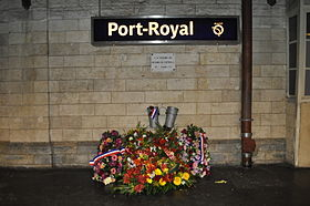 Image illustrative de l'article Attentat du RER B à Port-Royal