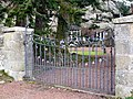Gate to the Vicarage, Alnham - geograph.org.uk - 1171732.jpg
