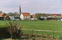 Gatersleben (Seeland), view to the village.jpg