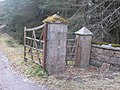 Gates at entrance to the Home Farm - geograph.org.uk - 1265948.jpg