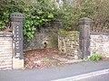 Gateway to The Ferns, Halifax Old Road, Cowcliffe, Fartown, Huddersfield - geograph.org.uk - 377043.jpg