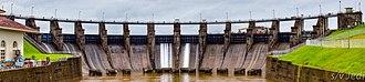 Gatun Dam - Image: Gatun dam spillway