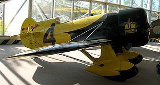 Gee Bee Model Z racing aircraft, United States, 1931