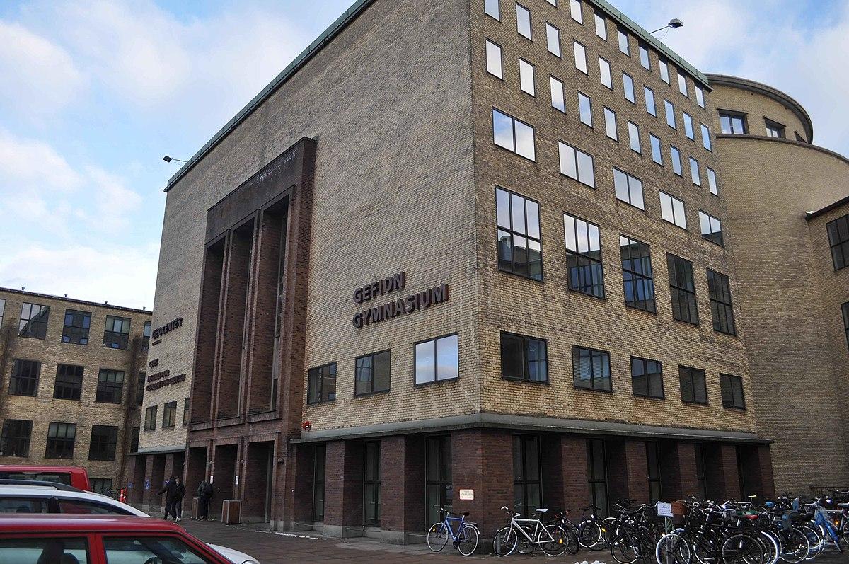 Gefion Gymnasium - Wikipedia, den frie encyklopædi