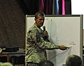 Gen. Stanley A. McCrystal speaks at the two day quarterly Corps Commander Conference and Security Shura (4522467057).jpg