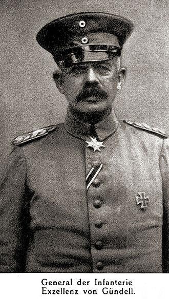 Erich von Gündell - General Erich von Gündell