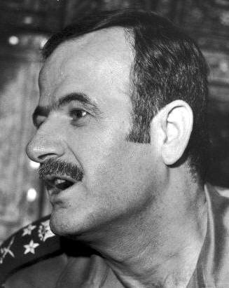 General Hafez al-Assad in 1970, during the Syrian Corrective Revolution