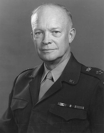 General of the Army Dwight D. Eisenhower.