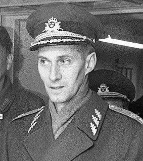 Ove Ljung Swedish military personnel